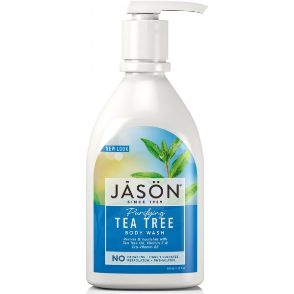 Tea Tree Satin Body Wash W/Pump 887ml