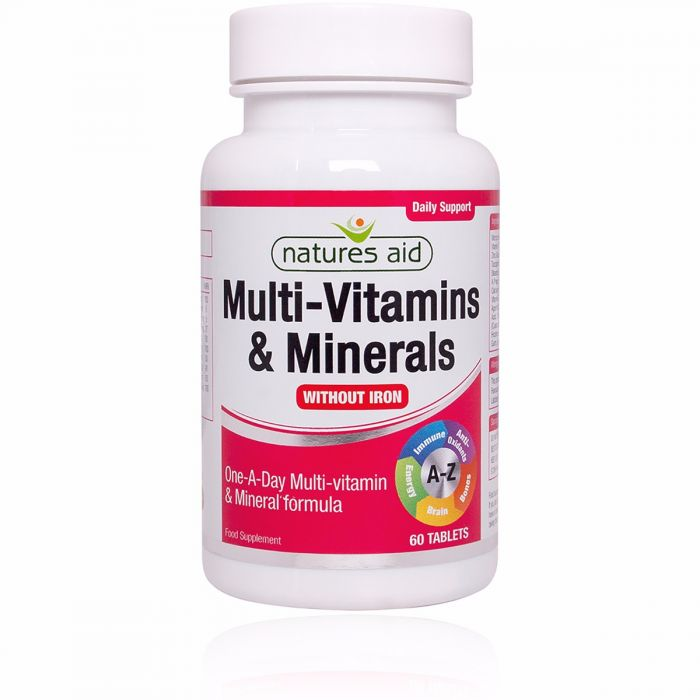 Multivitamins & Minerals without Iron