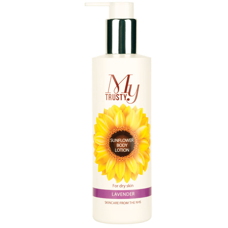 My Trusty Sunflower Body Lotion Lavender