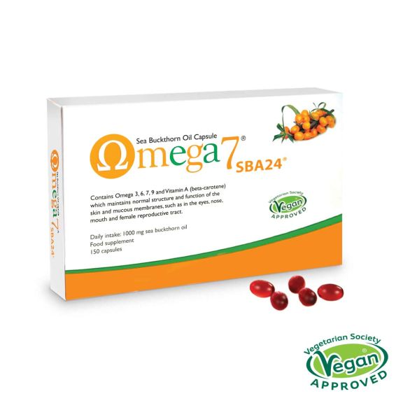 Omega 7 Sea Buckthorn Oil 150 Capsules