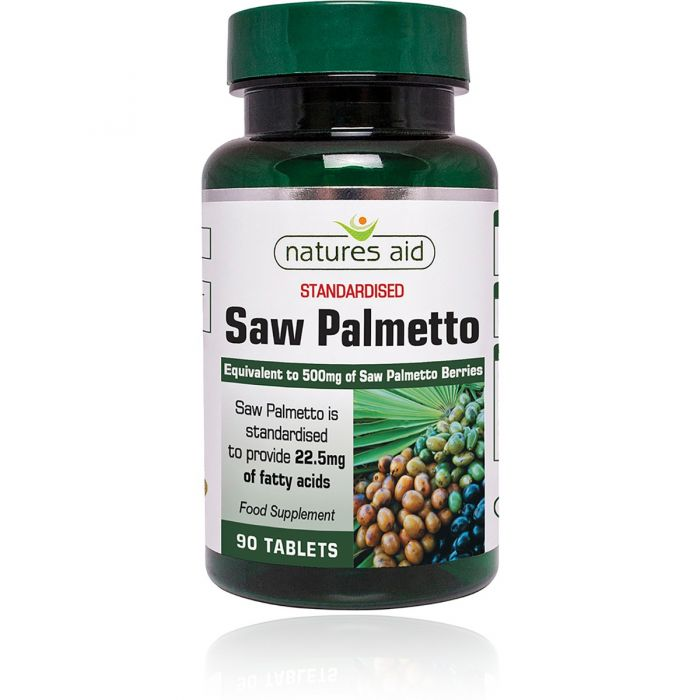 Natures Aid Saw Palmetto 90 Tablets