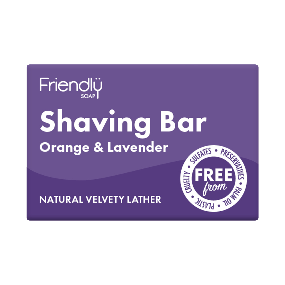 Friendly Natural Shaving Soap 95g